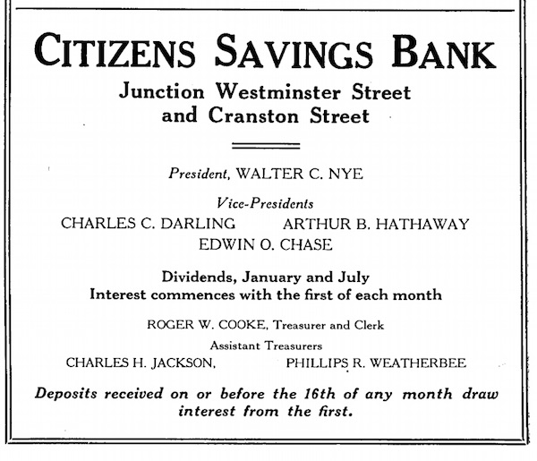 citizens savings bank