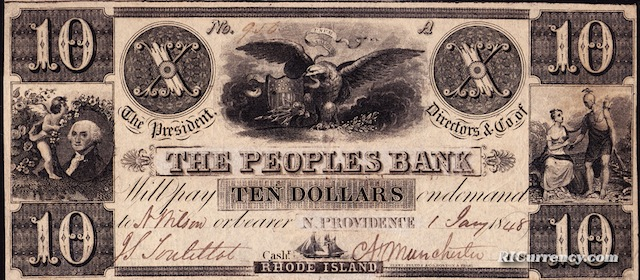 Peoples Bank $10