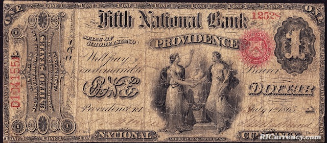 Fifth National Bank $5