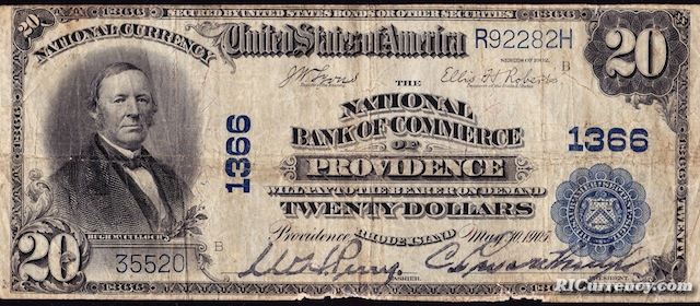 National Bank of Commerce $20