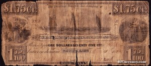 $1.75 banknote