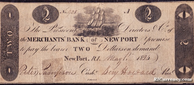 Merchants Bank $2