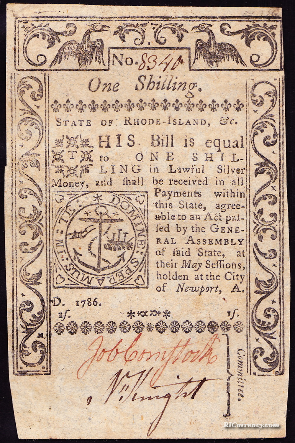 one shilling newport