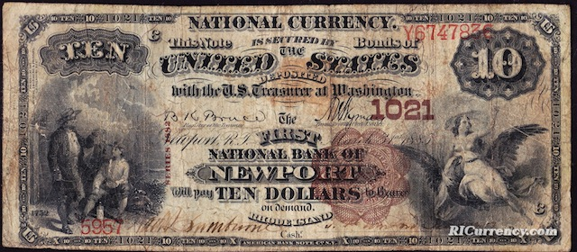 First National Bank of Newport $10