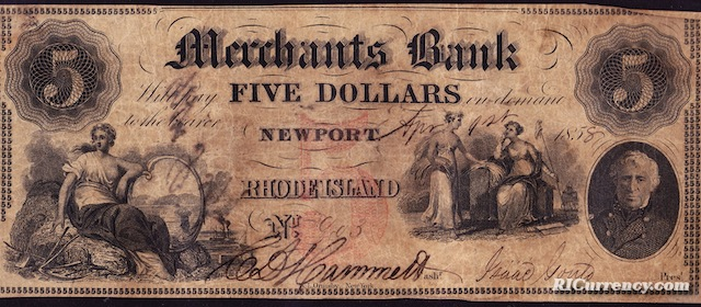Merchants Bank $5