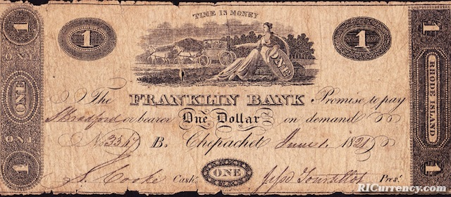 Franklin Bank $1