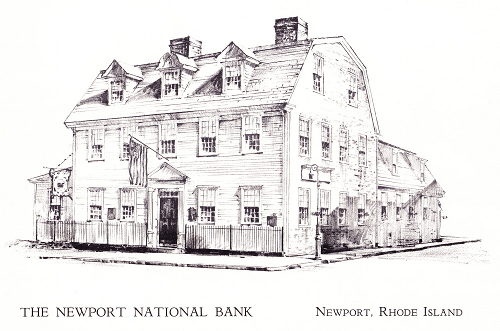 An image of the bank's home from a 1969 calendar.