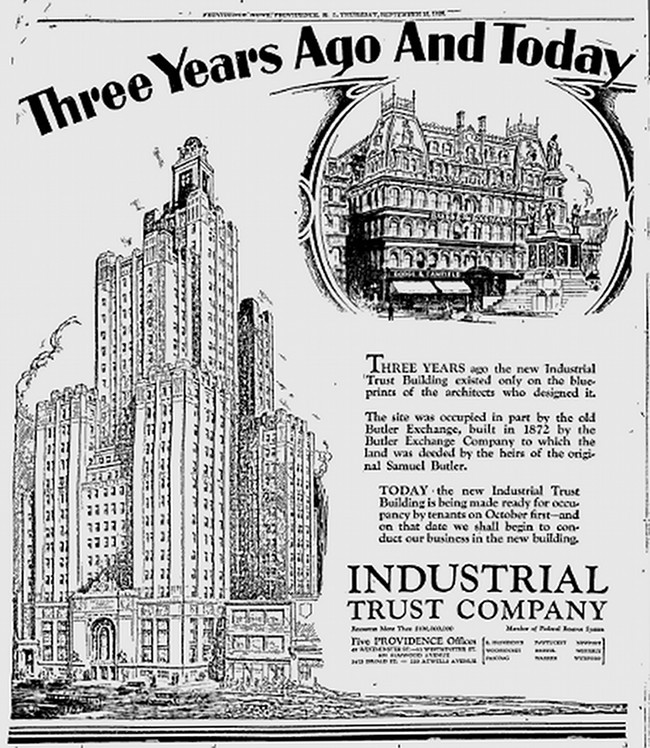 Industrial Trust Building 1928