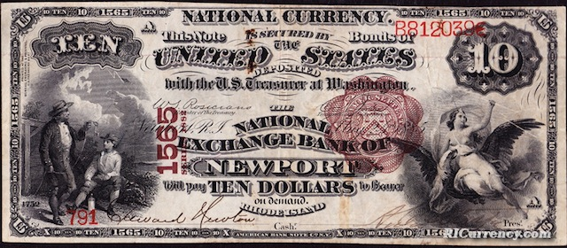 National Exchange Bank $10