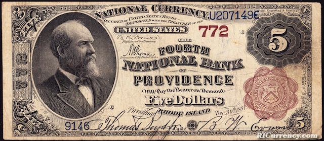 Fourth National Bank $5