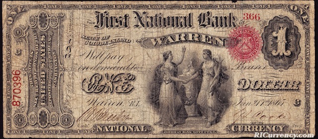 First National Bank of Warren $1