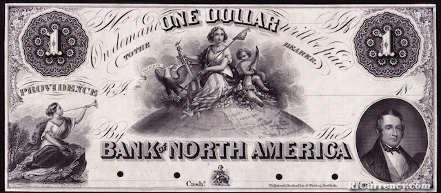 Bank of North America $1