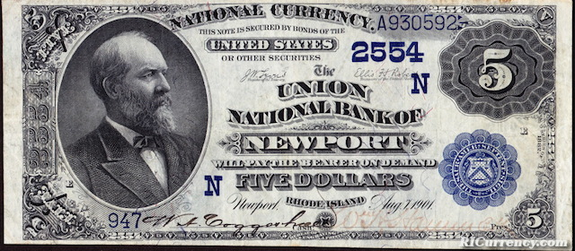 Union National Bank $5