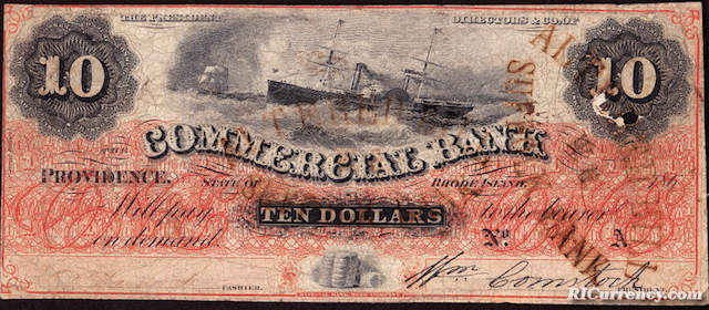 Commercial Bank $10