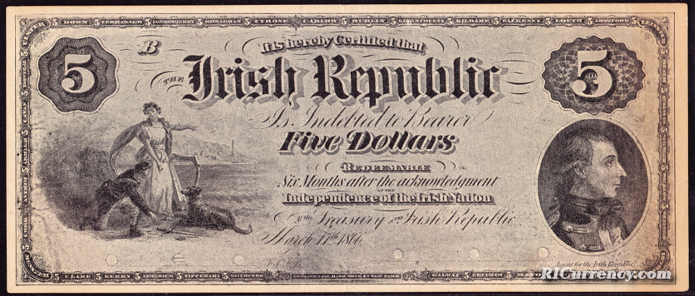 Irish Republic advertising note