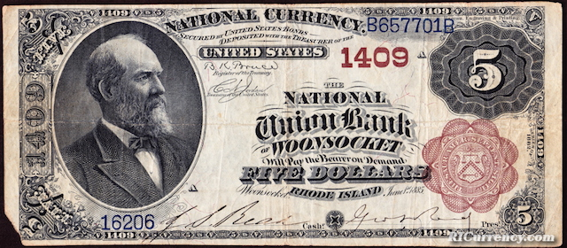 National Union Bank $5
