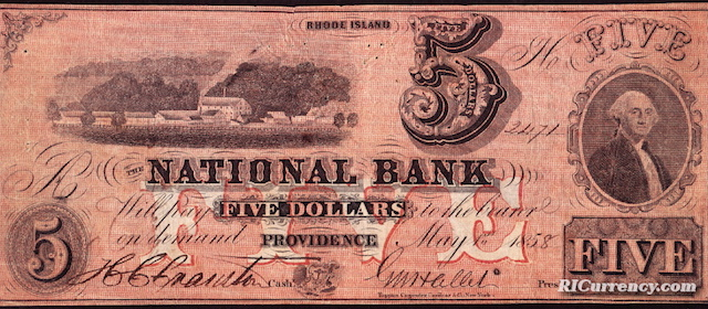 National Bank $5