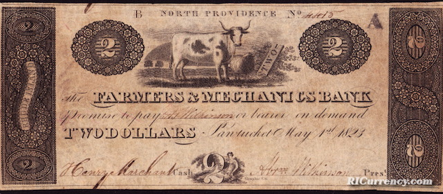 Farmers & Mechanics Bank $2