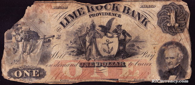 Lime Rock Bank $1