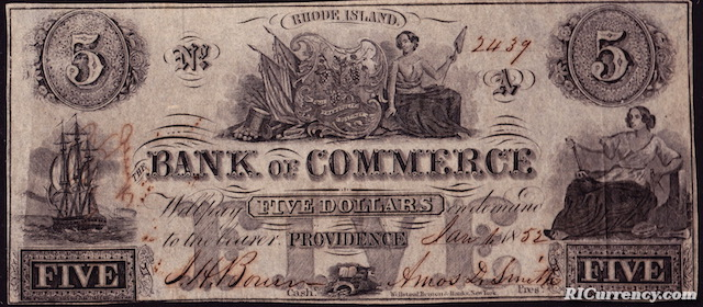 Bank of Commerce $5