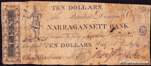 Narragansett Bank $10