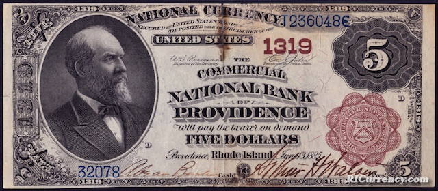 Commercial National Bank $5