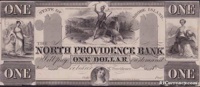 North Providence Bank $1
