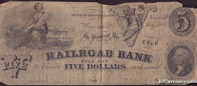 Railroad Bank $5